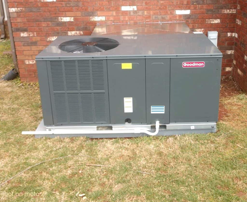 Jenkins Heating & Air Goodman Installation